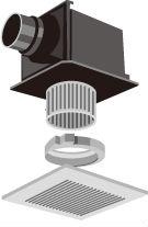 天井埋込形換気扇 ファンタッチシリーズ買取