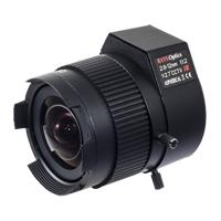 レンズ 5mm~50mm, F1.6, DC-アイリス-1